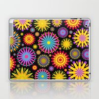 Bright And Colorful Flowers Laptop & iPad Skin