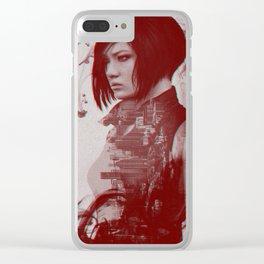 Mirror's Edge Catalyst w/Faith Clear iPhone Case