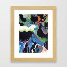 Exploding Bug  Framed Art Print