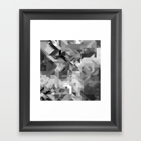 Black / White And Gray Scale Geometric Geometry Shape