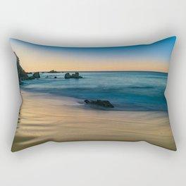 Golden Sand at Sunrise Rectangular Pillow