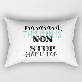 Non Stop   Hamilton Rectangular Pillow