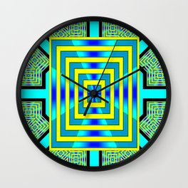COOL WATER DOOR Wall Clock