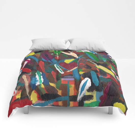 Colour by Instinct Comforters