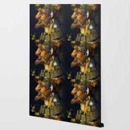 """Giuseppe Arcimboldo """"Four seasons - Autumn"""" Wallpaper"""