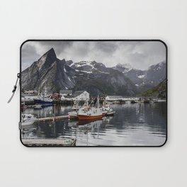 Lofoten Islands, Norway Mountain Landscape Laptop Sleeve