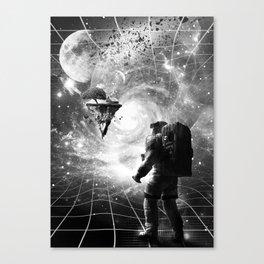 Through Wormhole Canvas Print