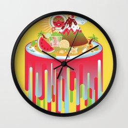 Buenos Dias Mister Sun Wall Clock