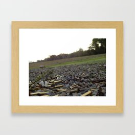 Fun On The Range Framed Art Print