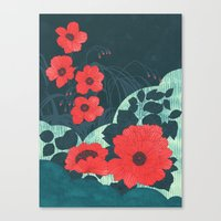 ruby Canvas Prints featuring Ruby by Tracie Andrews