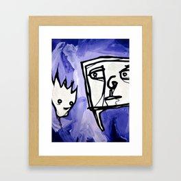99 eyes Framed Art Print