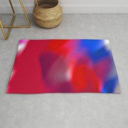 rippled abstract Rug
