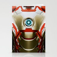 iron man Stationery Cards featuring IRON MAN Iron Man by Veylow