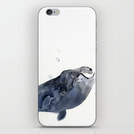 Bowlhead Whale iPhone Skin