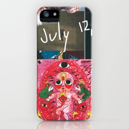 Happy Birthday to Me (July 12, 1992) iPhone Case