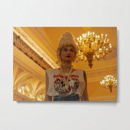 Casual Antoinette Metal Print
