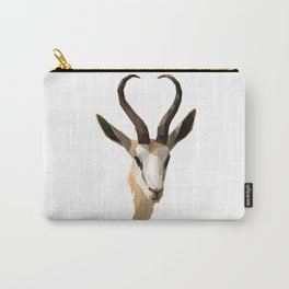 Low Poly Antelope Carry-All Pouch