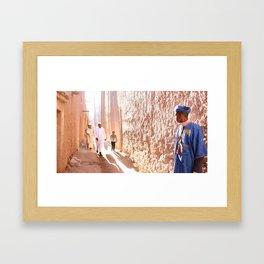 Regathering. Framed Art Print