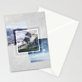 Inspiring mountain Stationery Cards