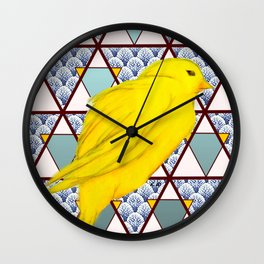 let's fly, be fly Wall Clock