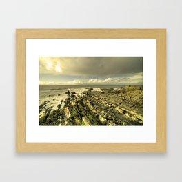 Coastal Geographical  Framed Art Print