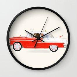 road trip sept Wall Clock
