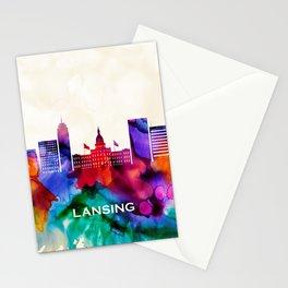 Lansing Skyline Stationery Cards