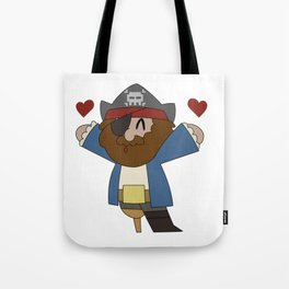 Pirate Love Tote Bag