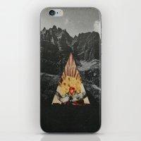 western iPhone & iPod Skins featuring Western World by Sean Bernhardt Art