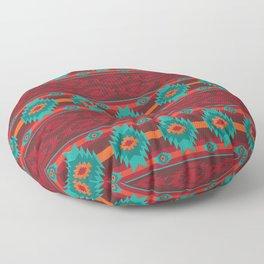 Southwestern navajo tribal pattern. Floor Pillow