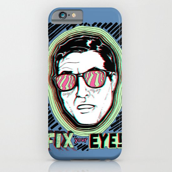 Fix Your Eyes! iPhone & iPod Case