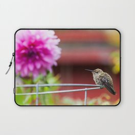 Meal Planning For Hummingbirds Laptop Sleeve