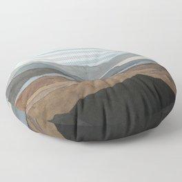 Salton Sea Landscape Floor Pillow