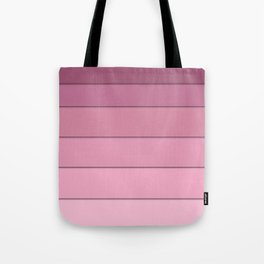 Colorful geometric pattern in shades of pink . Tote Bag