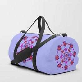 Shuriken Lotus Flower v3 Duffle Bag