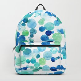 Turquoise bubbles Backpack