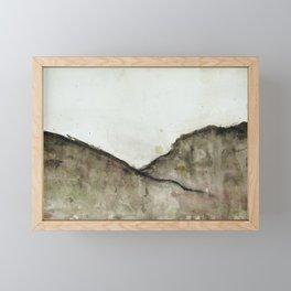 Minimalist Landscape Framed Mini Art Print