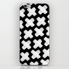 Black xxx iPhone & iPod Skin