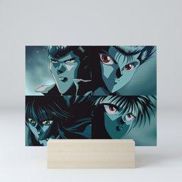 Unbalanced Kiss Yu Yu Hakusho Mini Art Print