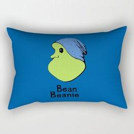 Bean Beanie Hipster Lima Rectangular Pillow