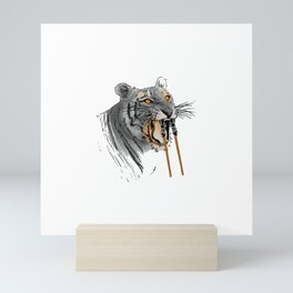 Sabertoothed Tiger Mini Art Print
