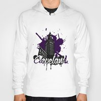 cleveland Hoodies featuring Cleveland LOve by Nijome