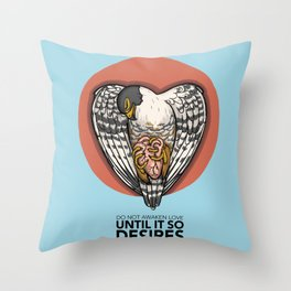 Before it so desires Throw Pillow