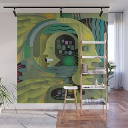 Race Against Time Wall Mural