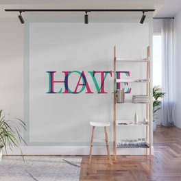 Love and Нate Wall Mural