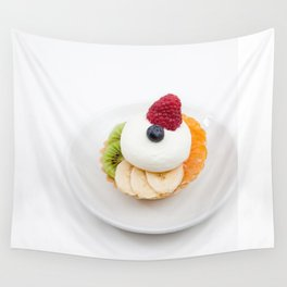 tart from fruit Wall Tapestry