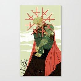 8 of Swords Canvas Print