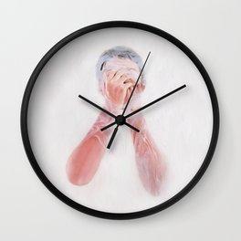 Lather Becalm Wall Clock