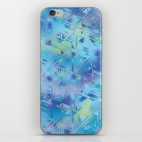 hologram iPhone & iPod Skins featuring Hologram by Marta Olga Klara