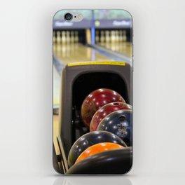 Bowling Pins iPhone Skin